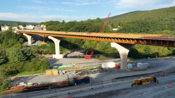 Update, Status of Bridge Work, Construction Status, SR903, Jim Thorpe, 8-23-2015 (1)