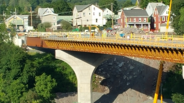 Update, Status of Bridge Work, Construction Status, SR903, Jim Thorpe, 8-23-2015 (10)