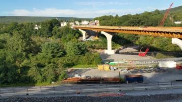 Update, Status of Bridge Work, Construction Status, SR903, Jim Thorpe, 8-23-2015 (2)