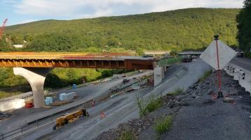 Update, Status of Bridge Work, Construction Status, SR903, Jim Thorpe, 8-23-2015 (3)