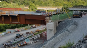 Update, Status of Bridge Work, Construction Status, SR903, Jim Thorpe, 8-23-2015 (4)