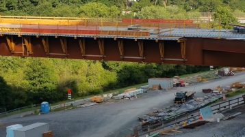 Update, Status of Bridge Work, Construction Status, SR903, Jim Thorpe, 8-23-2015 (5)
