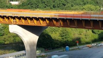 Update, Status of Bridge Work, Construction Status, SR903, Jim Thorpe, 8-23-2015 (6)