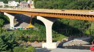 Update, Status of Bridge Work, Construction Status, SR903, Jim Thorpe, 8-23-2015 (9)