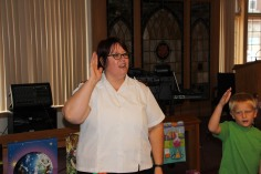 Vacation Bible School Camp, Salvation Army, Tamaqua, 8-12-2015 (13)