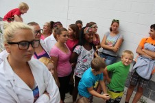 Vacation Bible School Camp, Salvation Army, Tamaqua, 8-12-2015 (56)