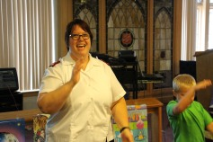Vacation Bible School Camp, Salvation Army, Tamaqua, 8-12-2015 (9)