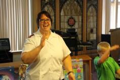 Vacation Bible School Camp, Salvation Army, Tamaqua, 8-12-2015 (9)