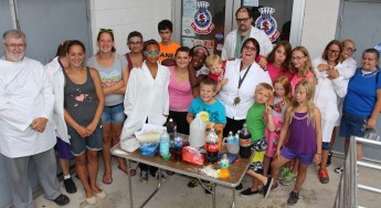 Vacation Bible School Camp, Salvation Army, Tamaqua, 8-12-2015 (99)