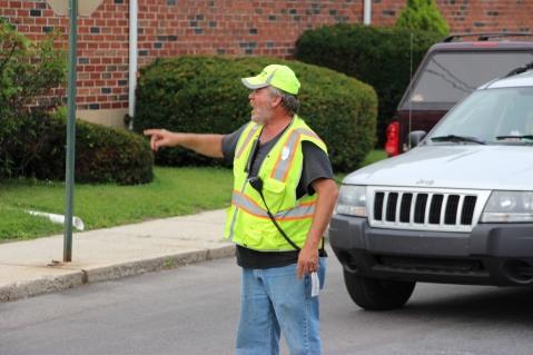 Water Main Leak Repair, 500 Block Pine St, Fire Police, SR309 North, Tamaqua, 8-6-2015 (1)