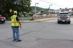 Water Main Leak Repair, 500 Block Pine St, Fire Police, SR309 North, Tamaqua, 8-6-2015 (16)