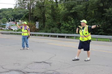 Water Main Leak Repair, 500 Block Pine St, Fire Police, SR309 North, Tamaqua, 8-6-2015 (24)