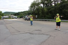 Water Main Leak Repair, 500 Block Pine St, Fire Police, SR309 North, Tamaqua, 8-6-2015 (29)