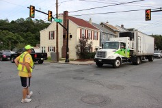 Water Main Leak Repair, 500 Block Pine St, Fire Police, SR309 North, Tamaqua, 8-6-2015 (55)