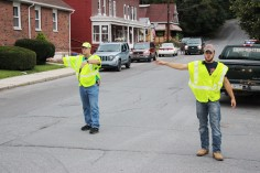 Water Main Leak Repair, 500 Block Pine St, Fire Police, SR309 North, Tamaqua, 8-6-2015 (88)