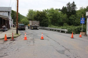 Water Main Leak Repair, 500 Block Pine St, SR309 North, Tamaqua, 8-6-2015 (2)