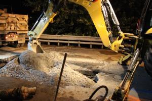 Water Main Leak Repair, 500 Block Pine St, SR309 North, Tamaqua, 8-6-2015 (20)