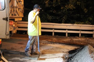 Water Main Leak Repair, 500 Block Pine St, SR309 North, Tamaqua, 8-6-2015 (31)