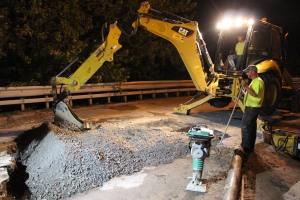 Water Main Leak Repair, 500 Block Pine St, SR309 North, Tamaqua, 8-6-2015 (32)