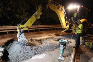 Water Main Leak Repair, 500 Block Pine St, SR309 North, Tamaqua, 8-6-2015 (34)
