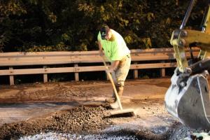 Water Main Leak Repair, 500 Block Pine St, SR309 North, Tamaqua, 8-6-2015 (37)