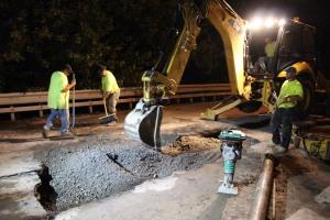 Water Main Leak Repair, 500 Block Pine St, SR309 North, Tamaqua, 8-6-2015 (42)