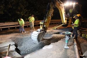 Water Main Leak Repair, 500 Block Pine St, SR309 North, Tamaqua, 8-6-2015 (44)