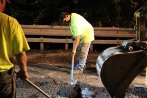 Water Main Leak Repair, 500 Block Pine St, SR309 North, Tamaqua, 8-6-2015 (50)