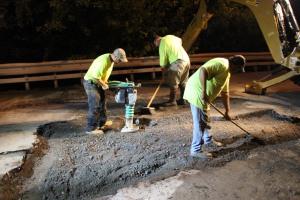 Water Main Leak Repair, 500 Block Pine St, SR309 North, Tamaqua, 8-6-2015 (59)