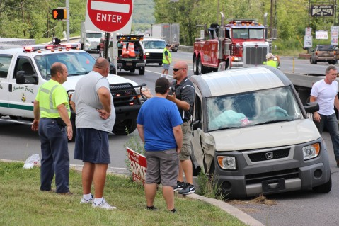 Woman Injured During Two Vehicle Accident, Tide Road, SR309, Hometown, 8-5-2015 (12)
