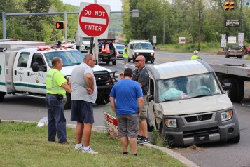 Woman Injured During Two Vehicle Accident, Tide Road, SR309, Hometown, 8-5-2015 (14)