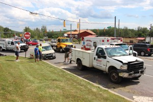 Woman Injured During Two Vehicle Accident, Tide Road, SR309, Hometown, 8-5-2015 (6)