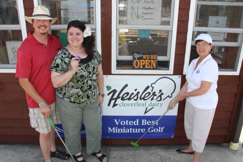 Zoo Crew Putt & Brew, Heisler's Dairy Bar in Walker Township, Sportz Zoo, Lansford (1)