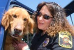 Pictured is a TamaquaArea.com file photo of Ruch with K-9 Argus.