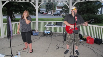 2 Four 1 performs, Music In The Park, Lansford Alive, Kennedy Park, Lansford, 9-6-2015 (1)