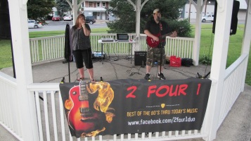 2 Four 1 performs, Music In The Park, Lansford Alive, Kennedy Park, Lansford, 9-6-2015 (2)