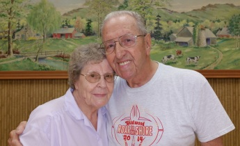 65 Years of Marriage, Herb and Evelyn Curvey, Tamaqua, 9-1-2015 (18)b