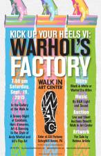 9-19-2015, Kick Up Your Heels VI, Warhol's Factory, Walk In Art Center, Schuylkill Haven