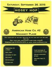 9-26-2015, Hosey Hop, American Hose Co. No. 2, Mahanoy Plane