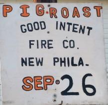 9-26-2015, Pig Roast, Good Intent Fire Company, New Philadelphia