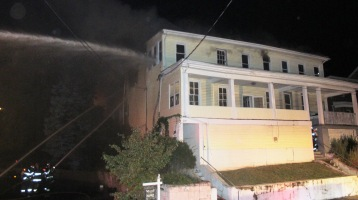 Apartment Building Fire, 210 Washington Street, Tamaqua, 9-9-2015 (11)