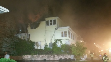 Apartment Building Fire, 210 Washington Street, Tamaqua, 9-9-2015 (2)