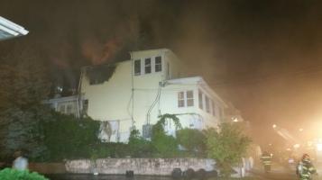 Apartment Building Fire, 210 Washington Street, Tamaqua, 9-9-2015 (2)