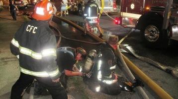 Apartment Building Fire, 210 Washington Street, Tamaqua, 9-9-2015 (46)