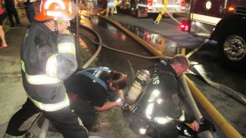 Apartment Building Fire, 210 Washington Street, Tamaqua, 9-9-2015 (48)