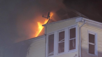 Apartment Building Fire, 210 Washington Street, Tamaqua, 9-9-2015 (79)