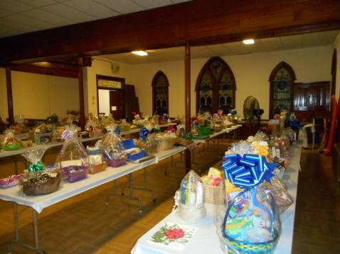 Basket Auction Social, Summit Hill Heritage Center, Summit Hill, 8-22-2015 (9)