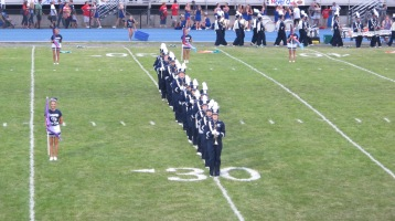 Blue Out Football Game, Benefit for Thelma Urban, Raider Band, Sports Stadium, Tamaqua, 9-4-2015 (113)