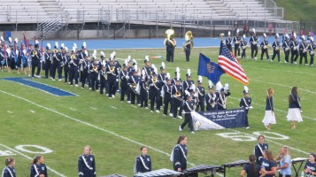 Blue Out Football Game, Benefit for Thelma Urban, Raider Band, Sports Stadium, Tamaqua, 9-4-2015 (114)