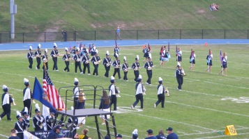 Blue Out Football Game, Benefit for Thelma Urban, Raider Band, Sports Stadium, Tamaqua, 9-4-2015 (116)